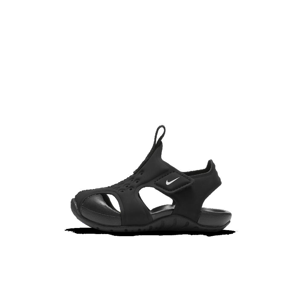 <ナイキ(NIKE)公式ストア> ナイキ サンレイ プロテクト 2 ベビーサンダル 943827-001 ブラック ★30日間返品無料 / Nike+メンバー送料無料