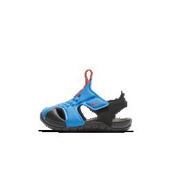 <ナイキ(NIKE)公式ストア>ナイキ サンレイ プロテクト 2 ベビーサンダル 943827-400 ブルー ★30日間返品無料 / Nike+メンバー送料無料!画像