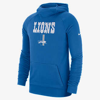 Nike Dri-FIT (NFL Lions). Men s Pullover Hoodie 5bb2bb66a