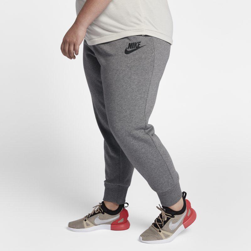 Nike Nike Plus Size - Sportswear Rally womens Trousers - Grey