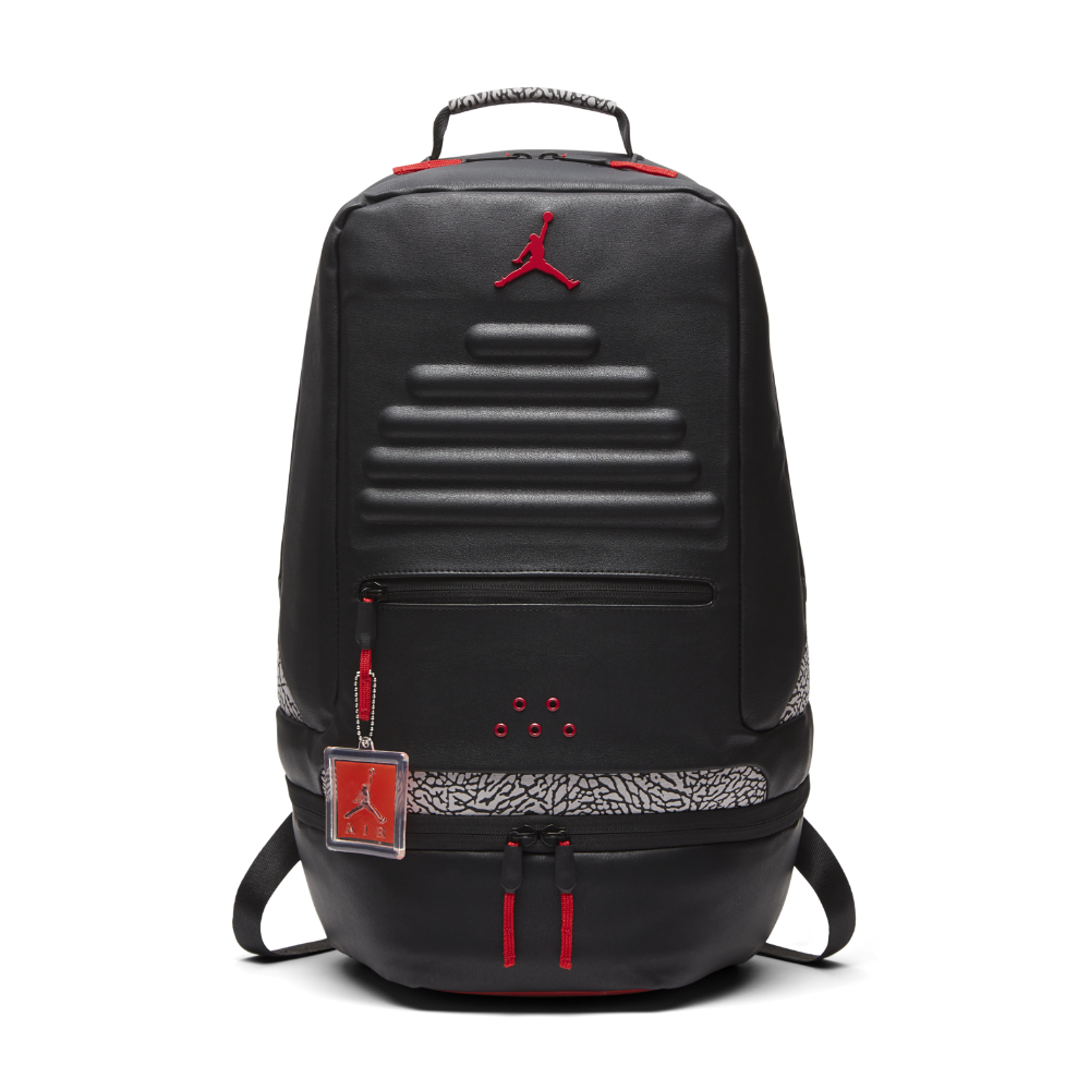 Jordan Retro 3 Backpack, by Nike (Black)