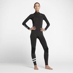 Женский гидрокостюм Hurley Advantage Plus Fullsuit 3/2 ммЖенский гидрокостюм Hurley Advantage Plus Fullsuit 3/2 мм обеспечивает тепло, позволяя полностью сосредоточиться на занятиях серфингом в холодную погоду. К обновленным элементамотносятся более обтекаемый силуэт и вставки в области коленей для легкости и защиты от влаги.  Удобно надевать, легко снимать  Непромокаемая молния анатомической формы на груди открыта с обеих сторон для свободы движений и предотвращения разрыва. Инновационная застежка с фиксатором позволяет быстро и удобно застегнуть кромку одной рукой.  Создано для движения  Швы расположены далеко от области подмышек, лопаток и внутренней части ног для гибкости. Легкая и невероятно эластичная неопреновая ткань Exoflex обеспечивает свободу движений на протяжении всей тренировки.  Легкость и тепло  Теплый ворсистый внутренний слой быстро высыхает, сохраняя легкость и защищая от холодного ветра. Флисовый внутренний слой из полого волокна на груди отводит влагу и удерживает тепло.<br>