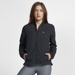 Женская куртка для серфинга Hurley BomberЖенская куртка для серфинга Hurley Bomber с прочным водоотталкивающим покрытием для надежной защиты в шторм — новая версия классического силуэта куртки-бомбер.<br>