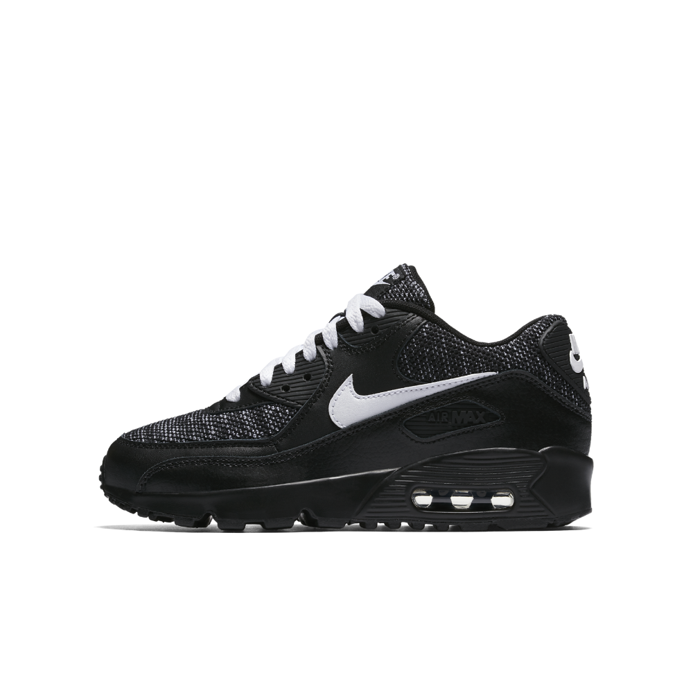 new product ba7a6 3243e Nike Air Max 90 Mesh SE Big Kids  Shoe Size 4Y (Black)   Shop Your Way   Online Shopping   Earn Points on Tools, Appliances, Electronics   more