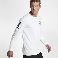 【ナイキ(NIKE)公式ストア】 ナイキコート ドライ メンズ ロングスリーブ テニス Tシャツ AA0808-100 ホワイト