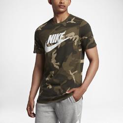 Мужская футболка Camo Nike SportswearМужская футболка Camo Nike Sportswear из мягкого хлопка обеспечивает прочность и комфорт на весь день.<br>