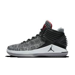 Мужские баскетбольные кроссовки Air Jordan XXXIIМужские баскетбольные кроссовки Air Jordan XXXII с верхом из легкого дышащего материала Flyknit обеспечивают плотную посадку и превосходную амортизацию для взрывного старта на площадке.  Легкость и поддержка  Дышащий материал Flyknit создает зоны эластичности и поддержки там, где это необходимо, повторяя форму стопы для комфорта и легкости.  Мгновенная амортизация  Низкопрофильная система амортизации Nike Zoom Air в области пятки и передней части стопы для легкости и упругости.  Взрывной шаг  Технология FlightSpeed равномерно распределяет нагрузку на вставку Nike Zoom Air в передней части стопы. Это обеспечивает максимальную амортизацию для взрывных движений.<br>