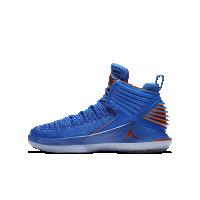 <ナイキ(NIKE)公式ストア> エア ジョーダン 32 ジュニア バスケットボールシューズ AA1254-400 ブルー画像