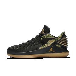 Мужские баскетбольные кроссовки Air Jordan XXXII LowМужские баскетбольные кроссовки Air Jordan XXXII Low с верхом из легкого дышащего материала Flyknit обеспечивают плотную посадку и превосходную амортизацию для взрывного старта на площадке.  Легкость и поддержка  Дышащий материал Flyknit создает зоны эластичности и поддержки там, где это необходимо, повторяя форму стопы для комфорта и легкости.  Мгновенная амортизация  Низкопрофильная система амортизации Nike Zoom Air в области пятки и передней части стопы для легкости и упругости.  Взрывной шаг  Технология FlightSpeed равномерно распределяет нагрузку на вставку Nike Zoom Air в передней части стопы. Это обеспечивает максимальную амортизацию для взрывных движений.<br>