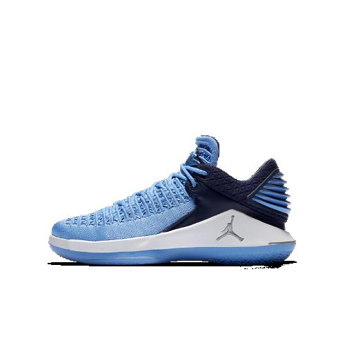 エア ジョーダン 32 LOW ジュニア バスケットボールシューズ AA1257-401 ブルー