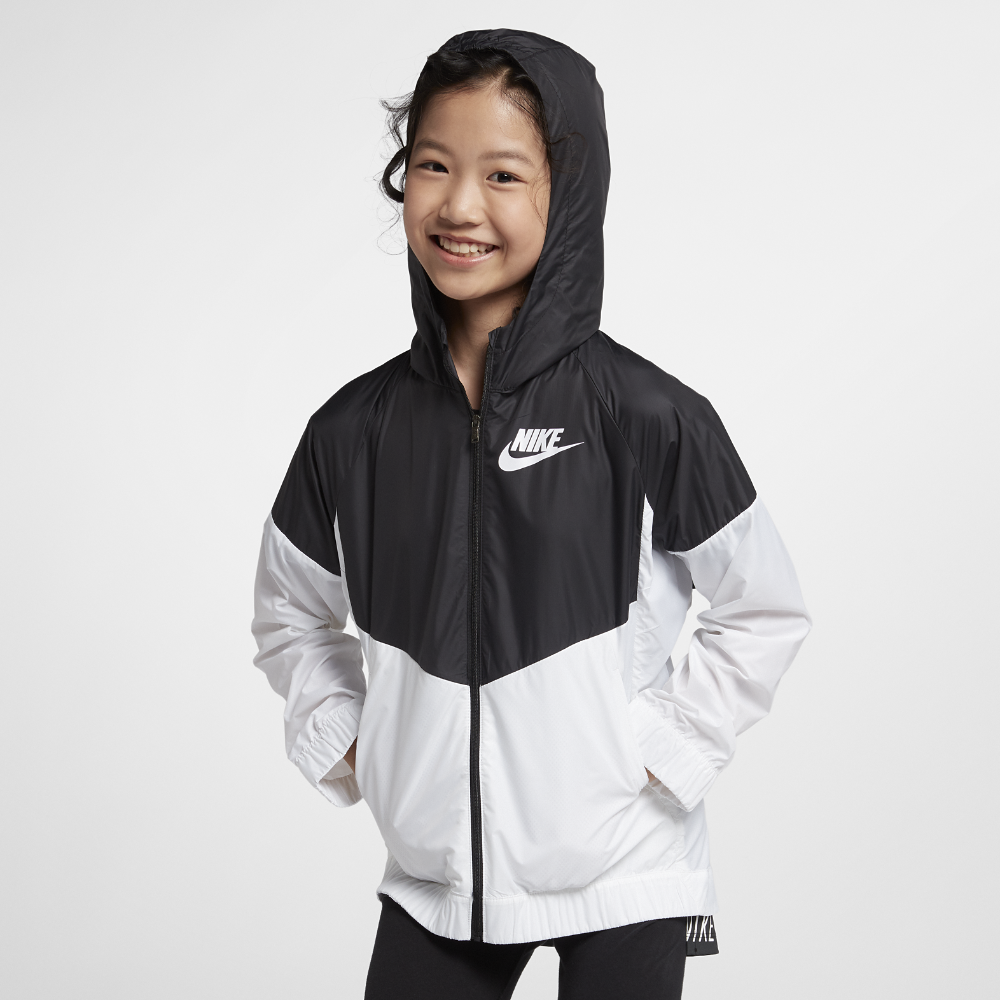 d65a3601e Nike Sportswear Windrunner Big Kids' (Girls') Jacket Size XS (Black) | Shop  Your Way: Online Shopping & Earn Points on Tools, Appliances, Electronics &  more