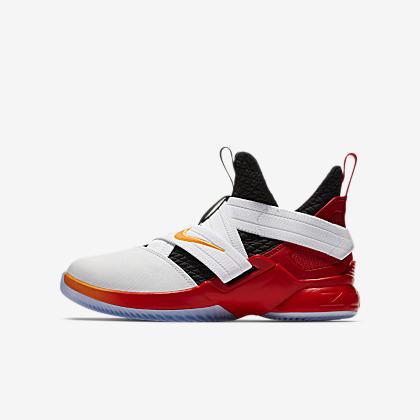 dd1ac6c15f26 LeBron Soldier 11 FlyEase Big Kids  Basketball Shoe. Nike.com