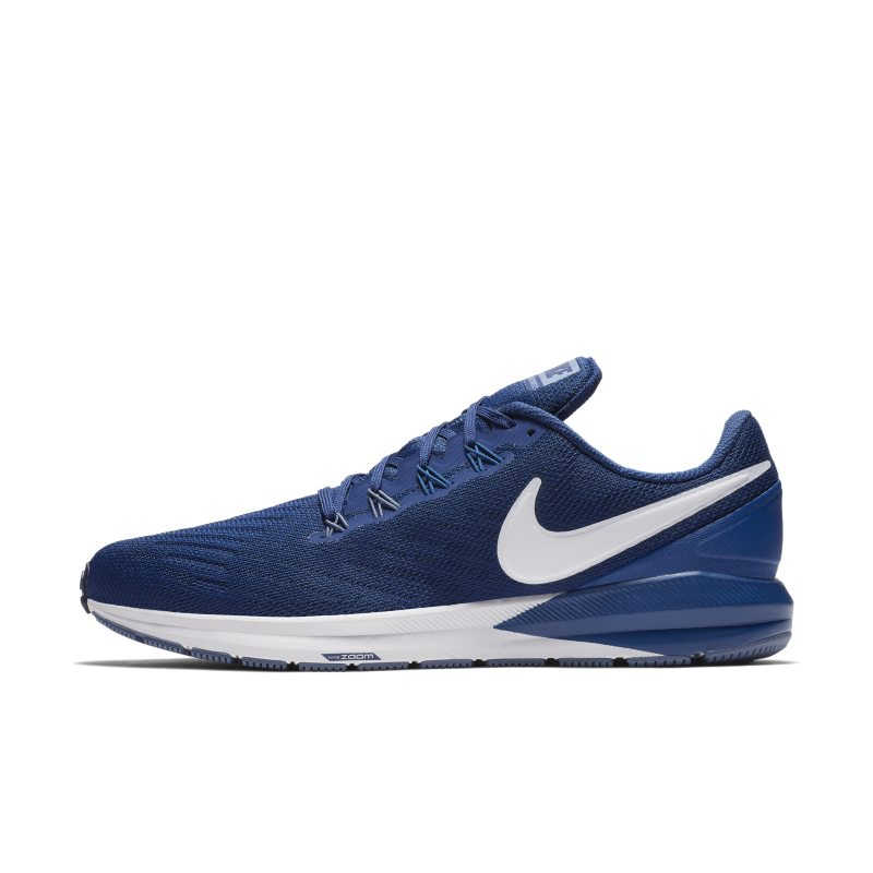 Nike Air Zoom Structure 22 Erkek Koşu Ayakkabısı (Geniş)  AA1637-404 -  Mavi 45.5 Numara Ürün Resmi