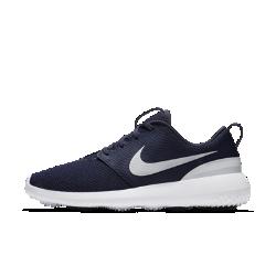 Мужские кроссовки для гольфа Nike Roshe GМужские кроссовки для гольфа Nike Roshe G предлагают современный дизайн с дышащим верхом из сетки и имеют мягкую гибкую подошву из пеноматериала, которая обеспечивает амортизацию как на поле, так и за его пределами.  Абсолютный комфорт  Минималистичный верх охватывает ногу для легкой и плотной посадки, чтобы обувь не отвлекала от игры.  Мягкая амортизация  Промежуточная подметка из пеноматериала Phylon обеспечивает прочность и амортизацию на протяжении всей игры.<br>