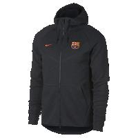 <ナイキ(NIKE)公式ストア> FC バルセロナ テック フリース ウィンドランナー メンズジャケット AA1929-036 ブラック画像