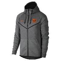 <ナイキ(NIKE)公式ストア> FC バルセロナ テック フリース ウィンドランナー メンズジャケット AA1929-095 グレー画像