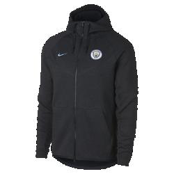 Мужская куртка Manchester City FC Tech Fleece WindrunnerМужская куртка Manchester City FC Tech Fleece Windrunner сохранила классические элементы оригинальной модели для бега: шеврон на груди и гладкий флис, обеспечивающий легкость и тепло в любой ситуации.<br>