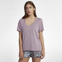 <ナイキ(NIKE)公式ストア>ハーレー ウォッシュ バーシティ ウィメンズ Tシャツ AA3215-694 ピンク画像