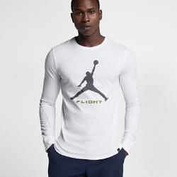 Мужская футболка с длинным рукавом Jordan Sportswear AJ 13 AltitudeМужская футболка с длинным рукавом Jordan Sportswear AJ 13 Altitude из прочного 100% хлопка с фирменными деталями обеспечивает комфорт на весь день.<br>