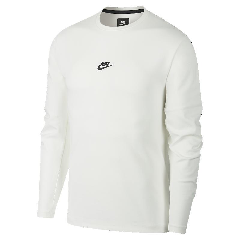 <ナイキ(NIKE)公式ストア>ナイキ スポーツウェア テック パック メンズ ロングスリーブ クルー AA3783-121 ホワイト 30日間返品無料 / Nike+メンバー送料無料