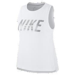 Женская беговая майка Nike MilerЖенская беговая майка Nike Miler из влагоотводящей ткани с дышащей сеткой на спине обеспечивает охлаждение на всей дистанции.Стандартный крой повторяет изгибы тела, создавая дополнительное пространство в ключевых зонах для оптимального комфорта и свободы движений.<br>