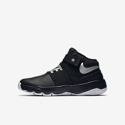 ad999d046ca Nike Team Hustle D 8 Big Kids  Basketball Shoe. Nike.com