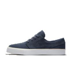 Мужская обувь для скейтбординга Nike SB Zoom Stefan Janoski High TapeПреимущества  Вставка Nike Zoom Air в области пятки для защиты от ударных нагрузок Высокий резиновый кант для прочности и эффектных трюков на доске Резиновая подметка с зигзагообразным рисунком для гибкости и сцепления<br>