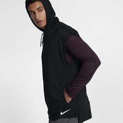 Мужская худи для тренинга без рукавов Nike Dri-FITМужская худи для тренинга без рукавов Nike Dri-FIT из влагоотводящей ткани обеспечивает комфорт и защиту от влаги во время тренировки.<br>