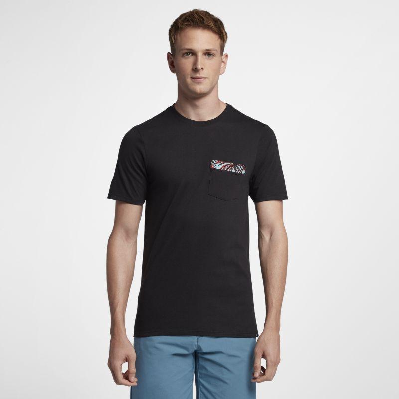 Nike Hurley Floral Pocket Men's T-Shirt - Black Image