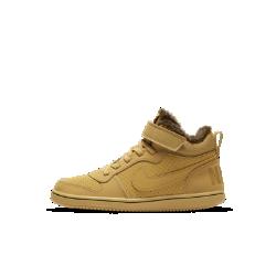 Кроссовки для дошкольников NikeCourt Borough Mid WinterКроссовки для дошкольников Nike Court Borough Mid Winter — это версия баскетбольной обуви, адаптированная для холодной погоды. Они обеспечивают поддержку, стабилизацию и комфорт в любых условиях.<br>