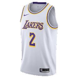 <ナイキ(NIKE)公式ストア>ロンゾ ボール アソシエーション エディション スウィングマン (ロサンゼルス・レイカーズ) メンズ ナイキ NBA コネクテッド ジャージー AA7101-100 ホワイト画像