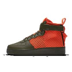 Мужские кроссовки Nike SF Air Force 1 Mid QSУниверсальные мужские кроссовки Nike SF Air Force 1 Mid QS в стиле «милитари» обеспечивают комфорт на каждый день.<br>