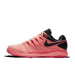 Мужские теннисные кроссовки Nike Air Zoom Vapor X ClayБлагодаря системе Dynamic Fit и каркасу во всю длину мужские теннисные кроссовки Nike Air Zoom Vapor X обеспечивают непревзойденный контроль движений во время игры. Вставка Nike Zoom Air создает низкопрофильную амортизацию при скоростных пробежках по корту и резкой смене направления.<br>
