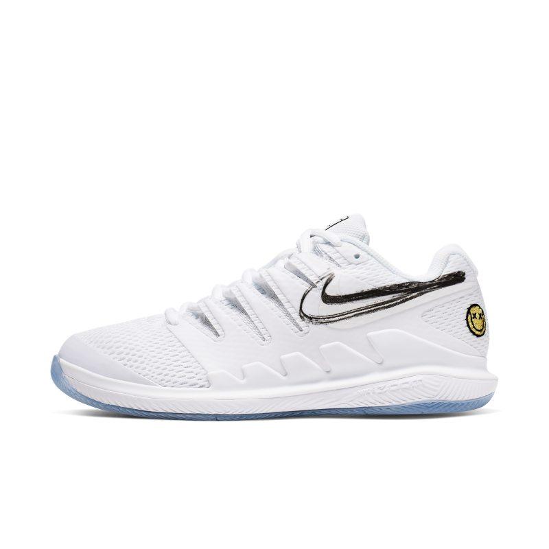 NikeCourt Air Zoom Vapor X Zapatillas de tenis de pista rápida Mujer Blanco