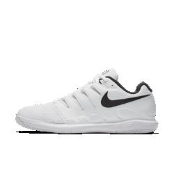 Мужские теннисные кроссовки Nike Air Zoom Vapor XБлагодаря системе Dynamic Fit и каркасу во всю длину мужские теннисные кроссовки Nike Air Zoom Vapor X обеспечивают непревзойденный контроль движений во время игры. Вставка Nike Zoom Air создает низкопрофильную амортизацию при скоростных пробежках по корту и резкой смене направления.<br>