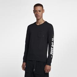 <ナイキ(NIKE)公式ストア>ナイキ SB メンズ ロングスリーブ スケートボード Tシャツ AA8088-010 ブラック 30日間返品無料 / Nike+メンバー送料無料画像