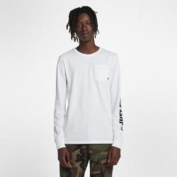 <ナイキ(NIKE)公式ストア>ナイキ SB メンズ ロングスリーブ スケートボード Tシャツ AA8088-100 ホワイト 30日間返品無料 / Nike+メンバー送料無料画像