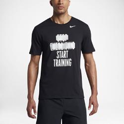 """Мужская футболка Nike Dry """"Start Training""""Мужская футболка Nike Dry """"Start Training"""" из мягкой влагоотводящей ткани обеспечивает длительный комфорт.<br>"""