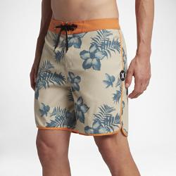 Мужские бордшорты Hurley Ray 45,5 смМужские бордшорты Hurley Ray 45,5 см из мягкой эластичной ткани с длиной выше колена обеспечивают максимальный комфорт и свободу движений во время занятий серфингом и напляже.<br>