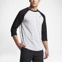 Мужская футболка с рукавом 3/4 Hurley Stanley RaglanМужская футболка с рукавом 3/4 Hurley Stanley Raglan из мягкой смесовой ткани на основе хлопка обеспечивает комфорт на весь день.<br>