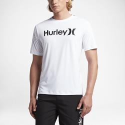Мужская футболка для серфинга Hurley Dry One And OnlyМужская футболка для серфинга Hurley Dry One And Only из эластичной влагоотводящей ткани обеспечивает максимальный комфорт и полную свободу движений в воде. Ткань с защитойот УФ-излучения блокирует солнечные лучи для дополнительной защиты.<br>