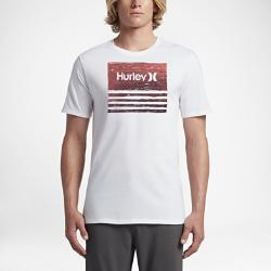 Мужская футболка Hurley Borderline TextripeМужская футболка Hurley Borderline Textripe из невероятно мягкой ткани обеспечивает комфорт на весь день.<br>
