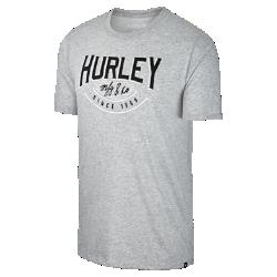 Мужская футболка Hurley Dri-FIT Grand SlamМужская футболка Hurley Dri-FIT Grand Slam из мягкой влагоотводящей ткани обеспечивает комфорт на весь день.<br>