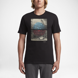 Мужская футболка Hurley Fin TossМужская футболка Hurley Fin Toss из мягкого хлопка обеспечивает комфорт на весь день.<br>