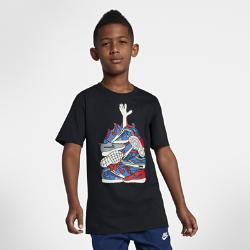 <ナイキ(NIKE)公式ストア>ナイキ スポーツウェア ジュニア (ボーイズ) Tシャツ AA8784-010 ブラック