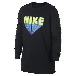 <ナイキ(NIKE)公式ストア>ナイキ Dri-FIT レジェンド ジュニア (ボーイズ) ロングスリーブ トレーニング Tシャツ AA8896-010 ブラック
