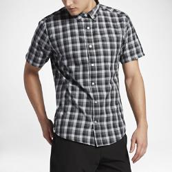 Мужская футболка с коротким рукавом Hurley Dri-FIT HavocМужская футболка с коротким рукавом Hurley Dri-FIT Havoc из мягкой влагоотводящей ткани с классическим воротником на пуговицах обеспечивает комфорт.<br>
