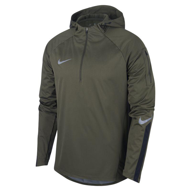 Nike Shield Squad DrillÇeyrek Fermuarlı Erkek Futbol Üstü  AA9612-325 -  Zeytuni 2XL Beden Ürün Resmi