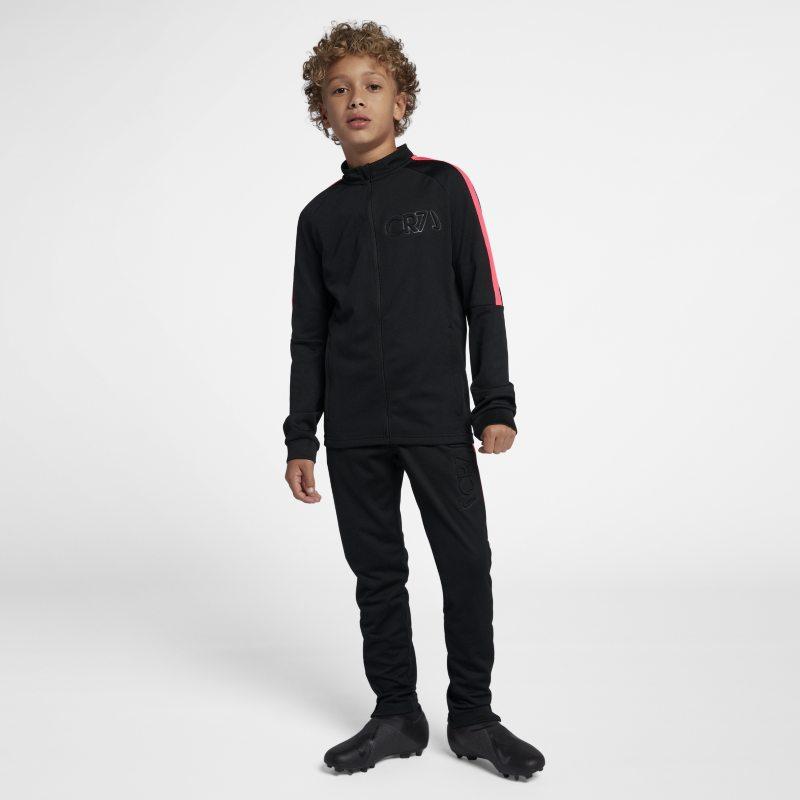Nike Dri-FIT CR7 Voetbaltrainingspak voor kids - Zwart <br/> 70.00 <br/> <a href='https://track.webgains.com/click.html?wgcampaignid=172061&amp;wgprogramid=6381&amp;product=1&amp;wglinkid=231777&amp;productname=Nike+Dri-FIT+CR7+Voetbaltrainingspak+voor+kids+-+Zwart&amp;wgtarget=https://www.nike.com/nl/t/dri-fit-cr7-older-football-tracksuit-5x2R5J/AA9922-010' target='_blank'>Bekijk!</a>