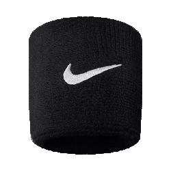 <ナイキ(NIKE)公式ストア>ナイキ スウッシュ リストバンド AC2286-010 ブラック 30日間返品無料 / Nike+メンバー送料無料画像